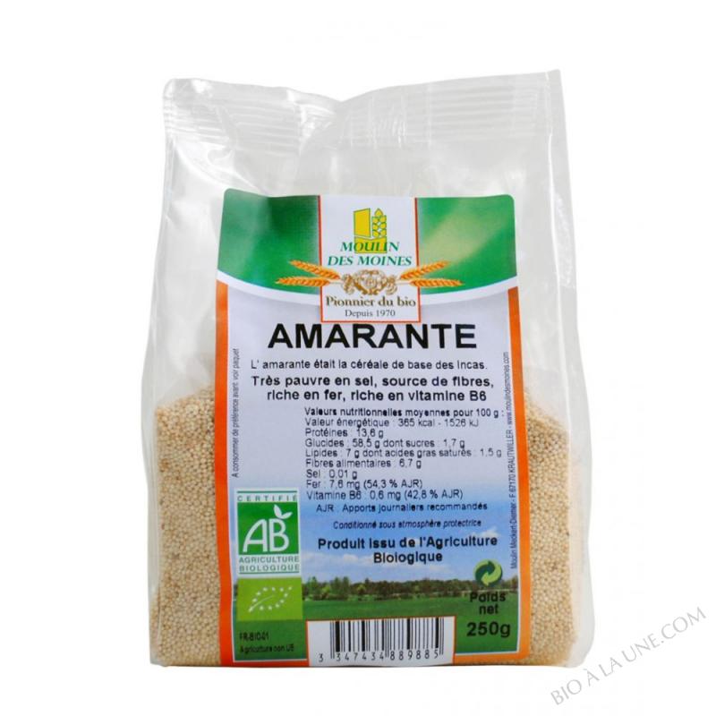 Amaranthe bio - 250 g