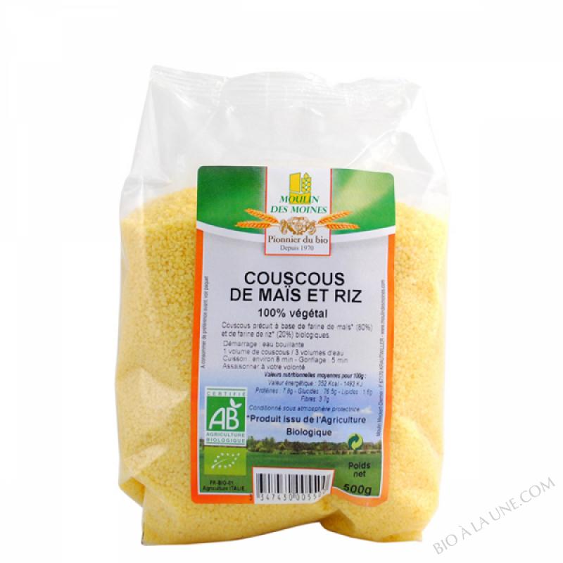 Couscous de maïs et riz - 250g