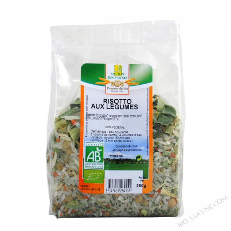 Risotto aux legumes - 250g