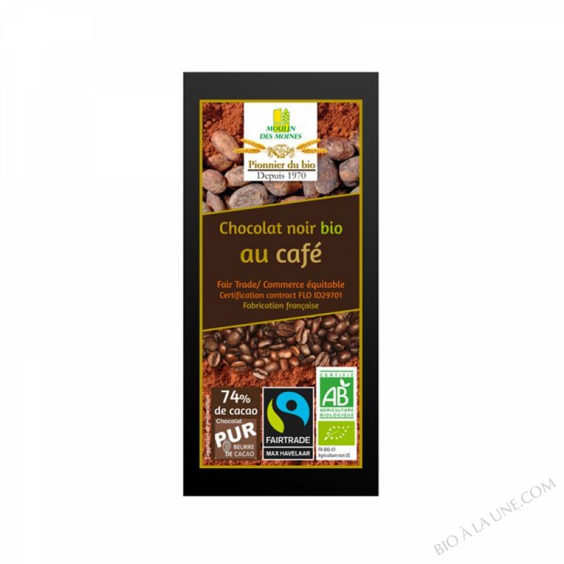 Chocolat Noir Cafe BIO 100g