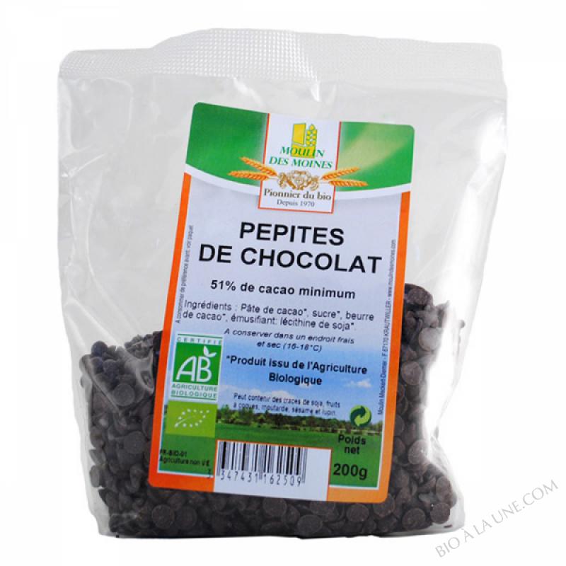 Pepites Chocolat Noir BIO 200g