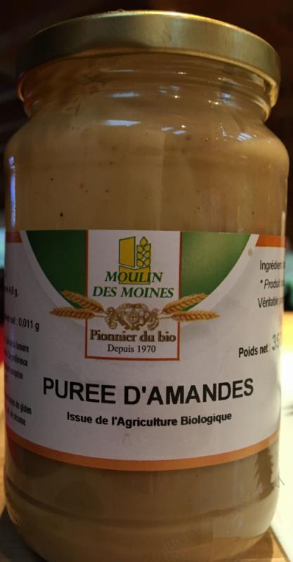 PURÉE D\'AMANDE COMPLÈTE BIO - 350G