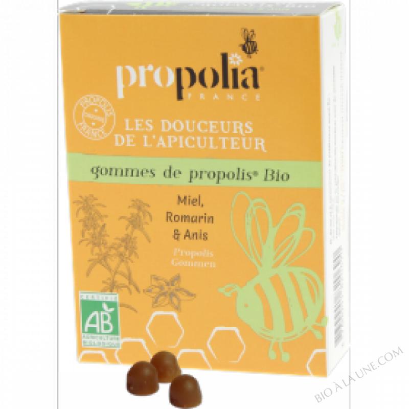 Gommes De Propolis Bio Romarin, Citron & Anis Sachet 45 g