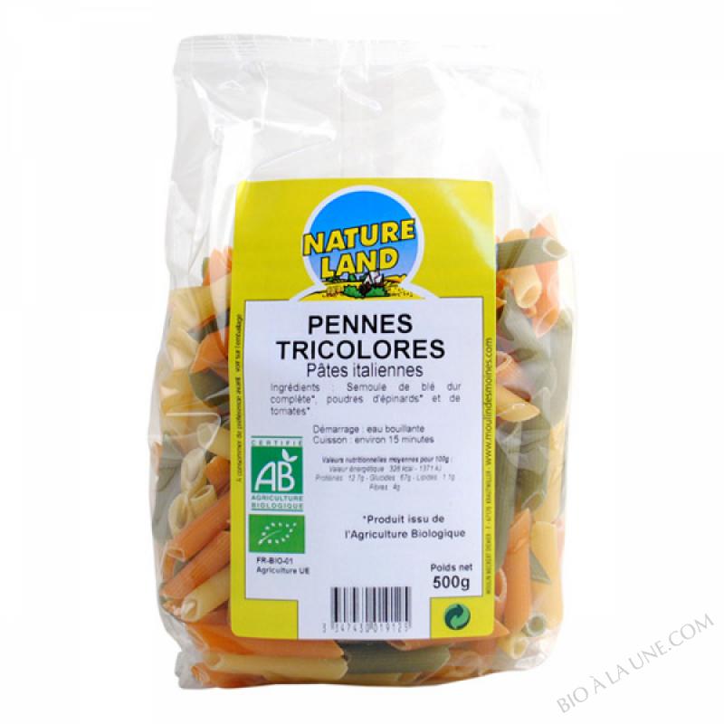 Pennes Tricolores BIO 500g