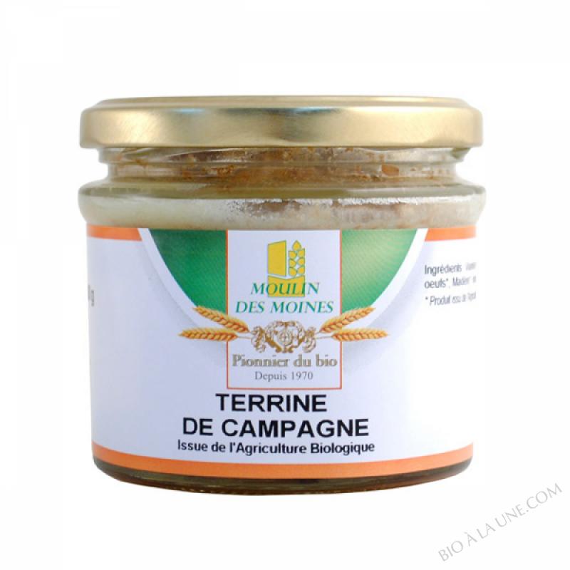 Terrine Campagne BIO 180g