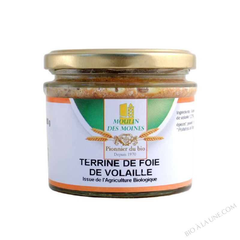 Terrine de Foie Volaille BIO 180g