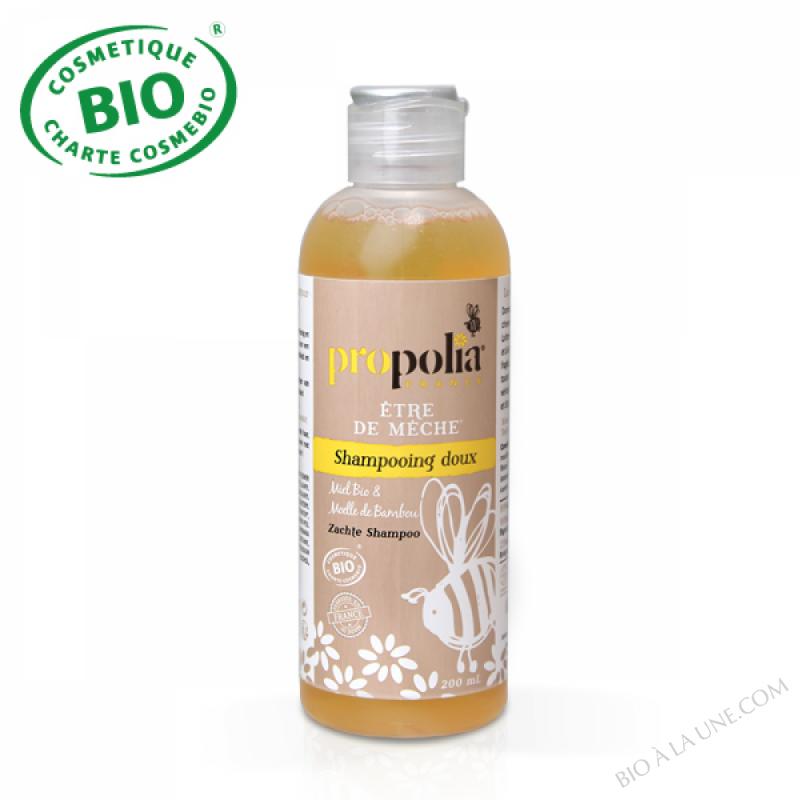 Shampooing Doux BIO - Miel & Moelle de bambou