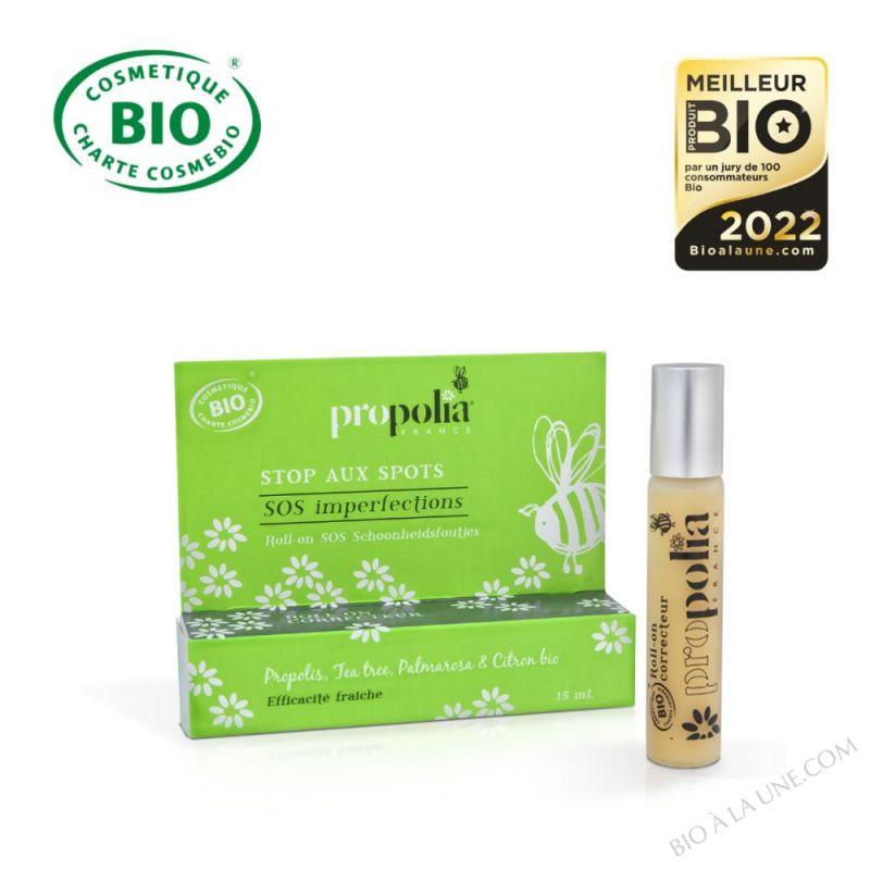 SOS imperfections BIO - Propolis, Tea traee & Palmarosa