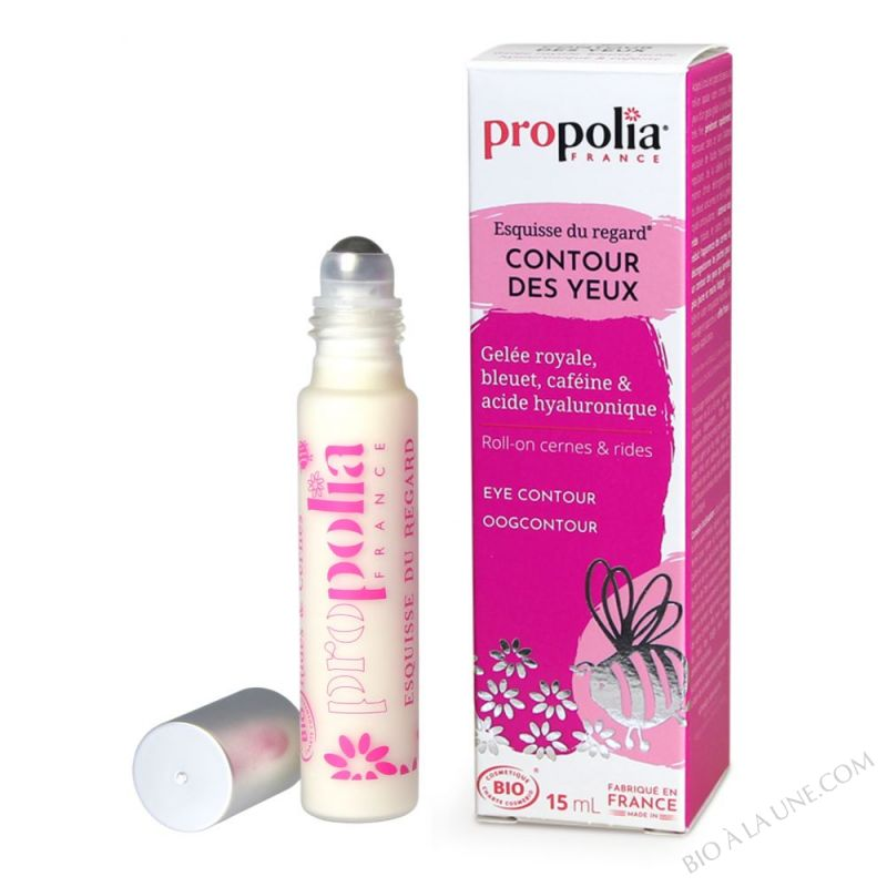 Roll-On Bio Contour Yeux Gelee Royale, Marron D'Inde Roll-on 15