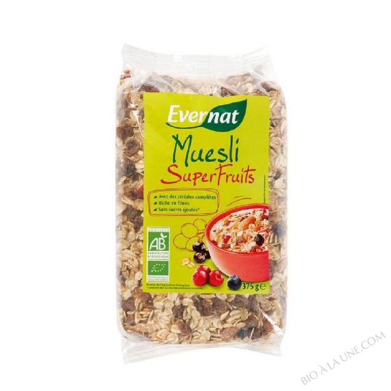 MUESLI SUPERFRUITS - 375 G