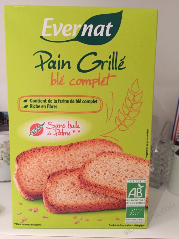 PAIN GRILLEAU BLE COMPLET - 250 G