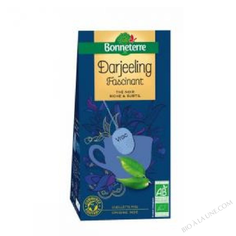The Noir Darjeeling Vrac 100gr