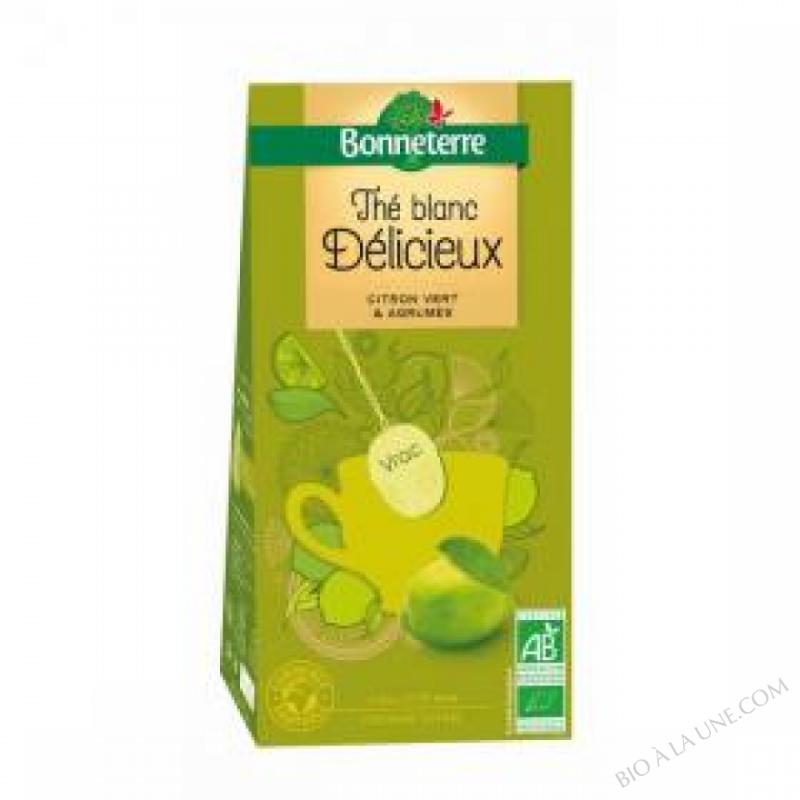 The Blanc Citron Vert Agrumes Vrac 100gr
