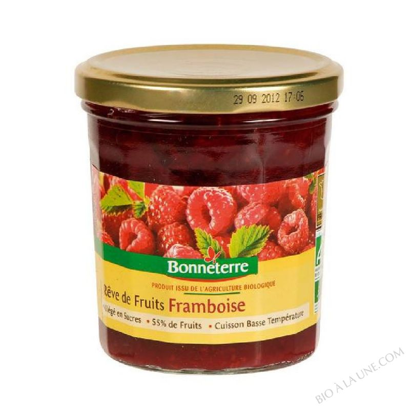 REVE DE FRUITS FRAMBOISE - 350 G
