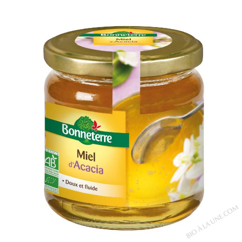 Miel d'Acacia bio 500g