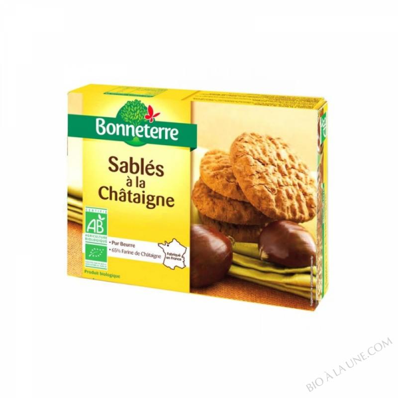 SABLES A LA CHATAIGNE (PUR BEURRE) - 125 G