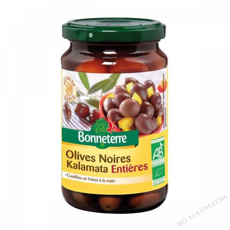OLIVES NOIRES KALAMATA ENTIERES - 200 G