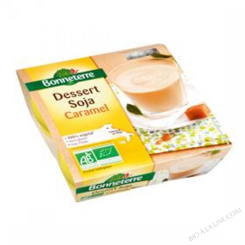 Dessert Soja Saveur Caramel 4x110G
