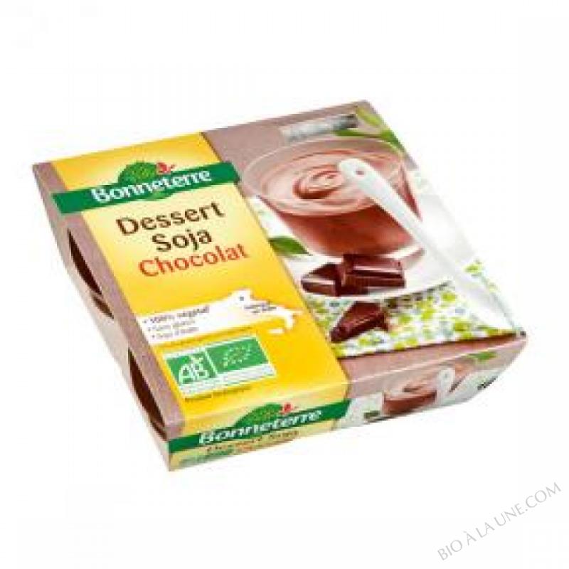 Dessert Soja Saveur Chocolat 4x110G