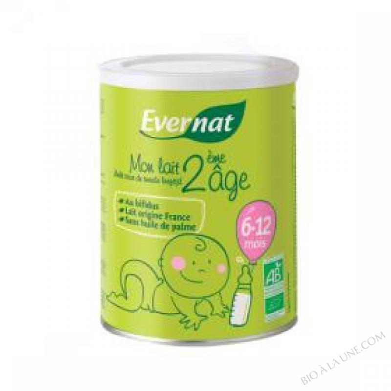 Mon lait 2eme âge 6 - 12 mois 400g