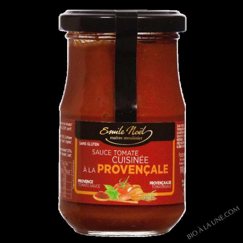 Sauce tomate cuisinée à la provençale bio - 190g