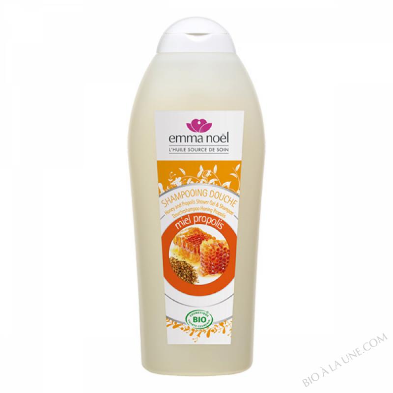 Shampooing douche miel propolis bio - 750ml