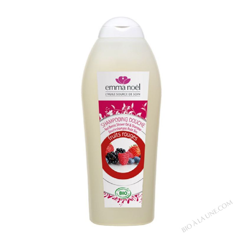 Shampooing douche fruits rouges bio - 750ml