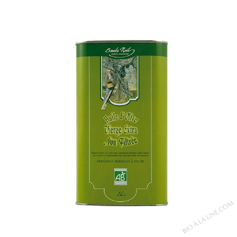 Huile d'olive vierge extra bio non filtrée - 1L