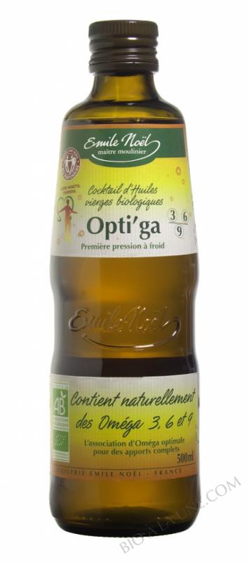 Huile Opti'ga équitable bio - 500ml