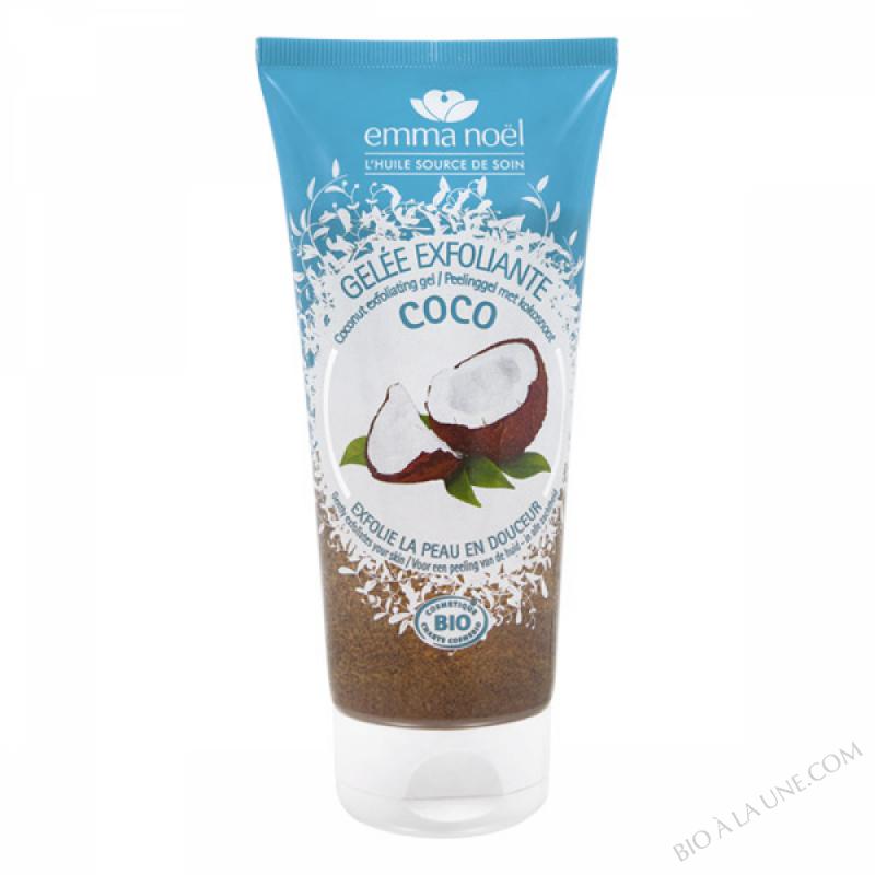 Gelée exfoliante coco bio - 200ml
