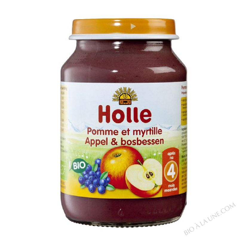 Petit pot pomme-myrtille 4 mois 190g