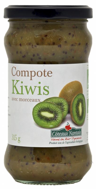 La compote de kiwis Bio 315g