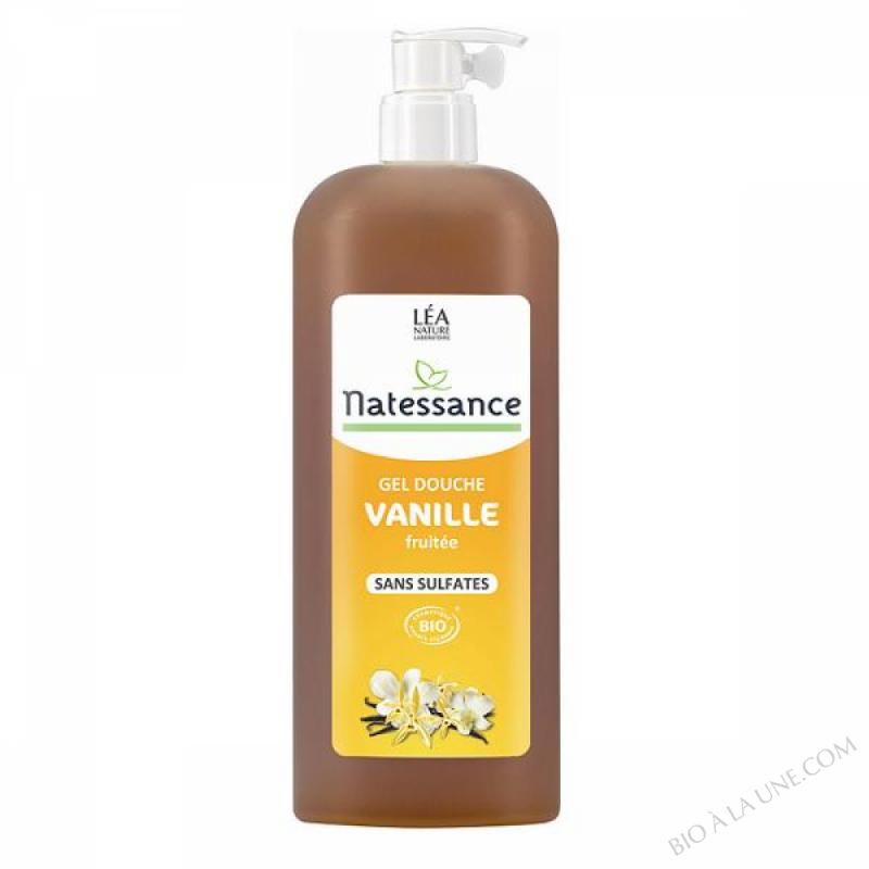 Gel douche Vanille Fruitee sans sulfate 1L