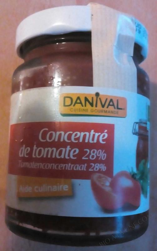 CONCENTRE TOMATES 28% 100G DANIVAL