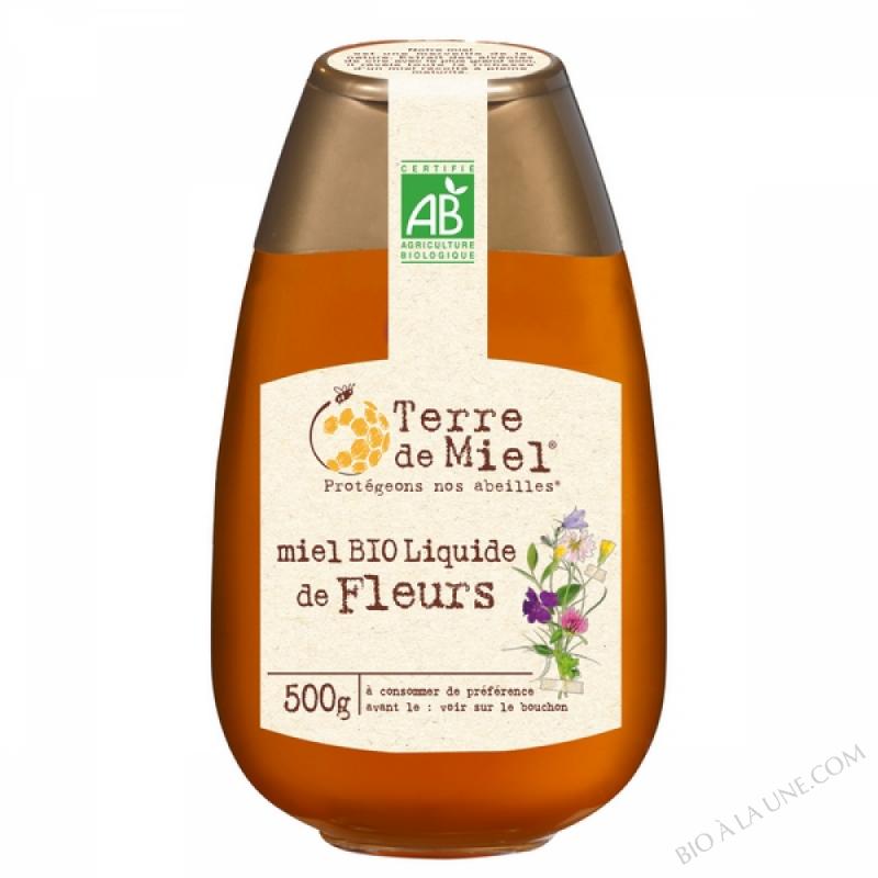 Squeezer miel toutes fleurs bio 500g