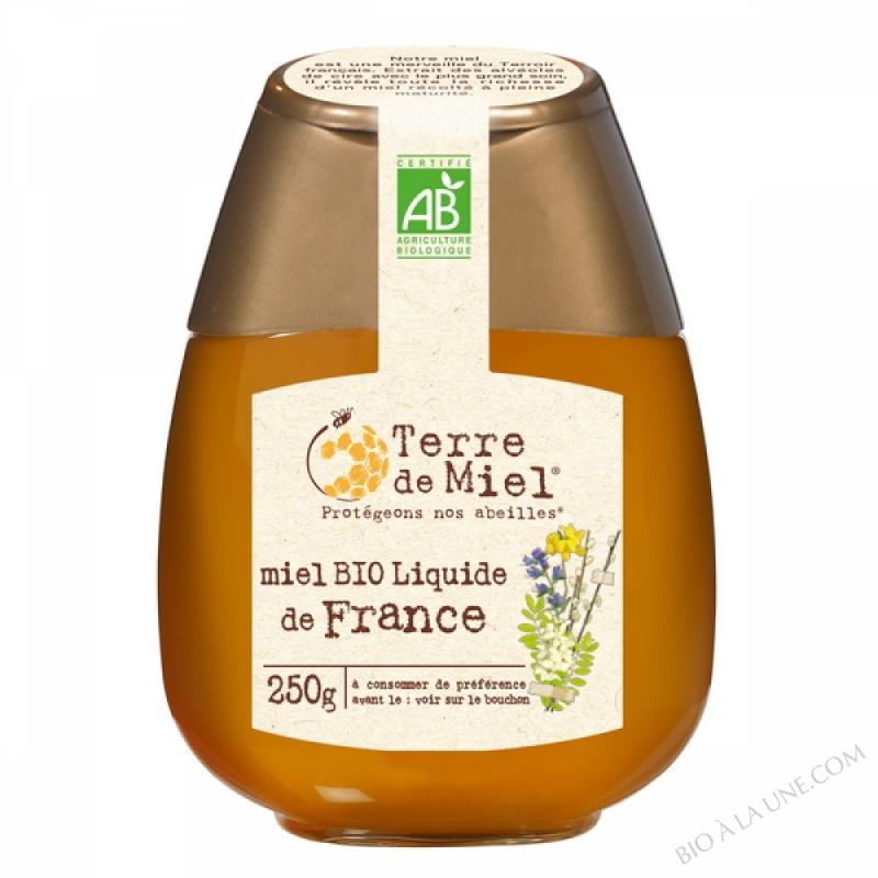 Squeezer Miel toutes fleurs bio France 250g