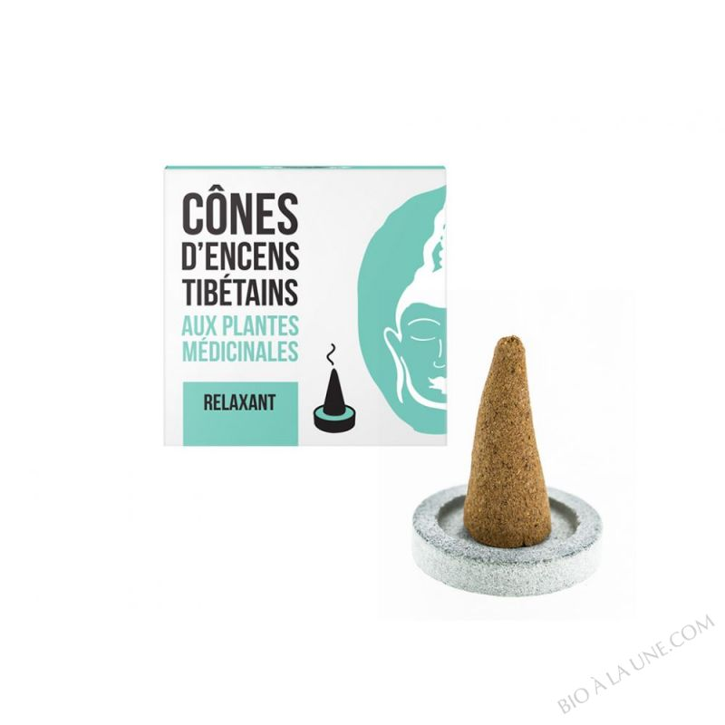 CONES D'ENCENS TIBETAINS RELAXANT AROMANDISE