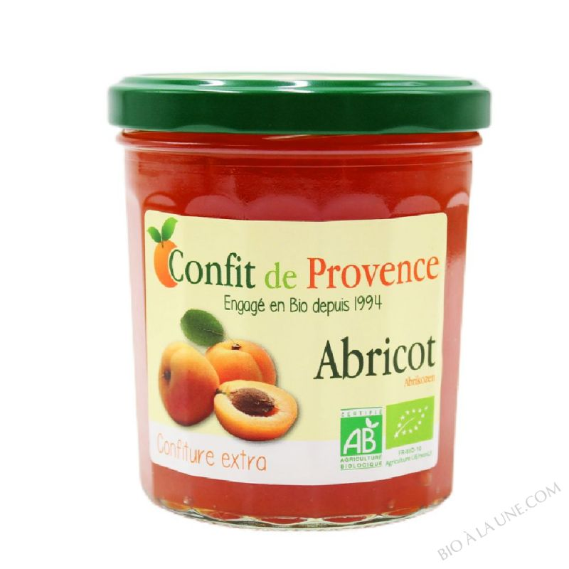 Confiture Extra d'Abricot BIO 370g