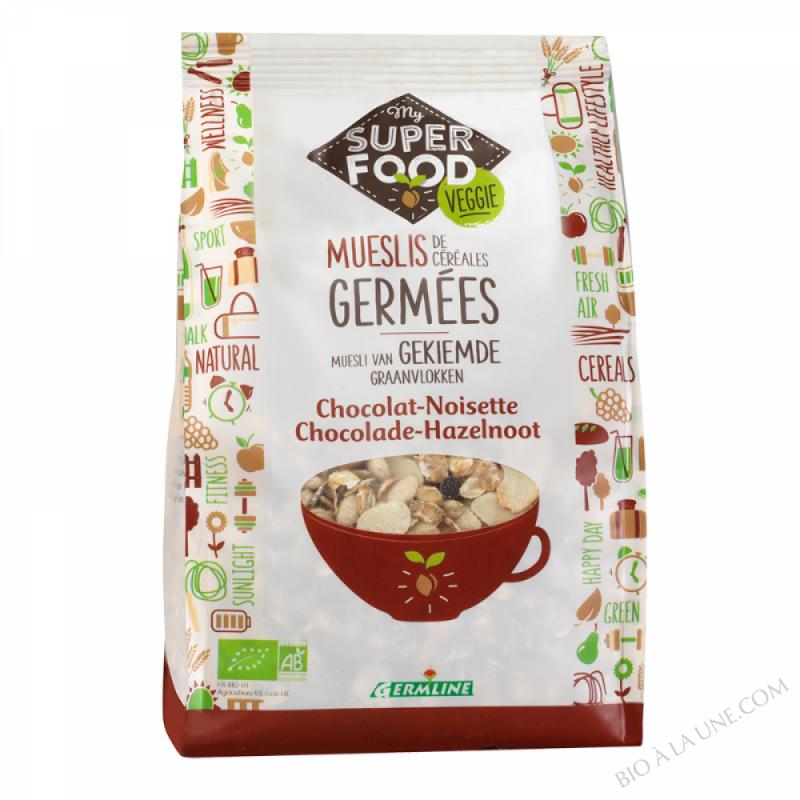 Muesli chocolat / noisette 350g