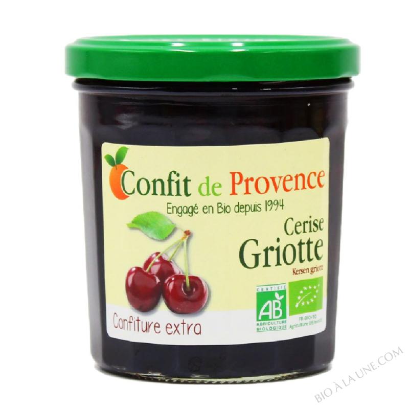 Confiture Extra de Cerise Griotte BIO 370g