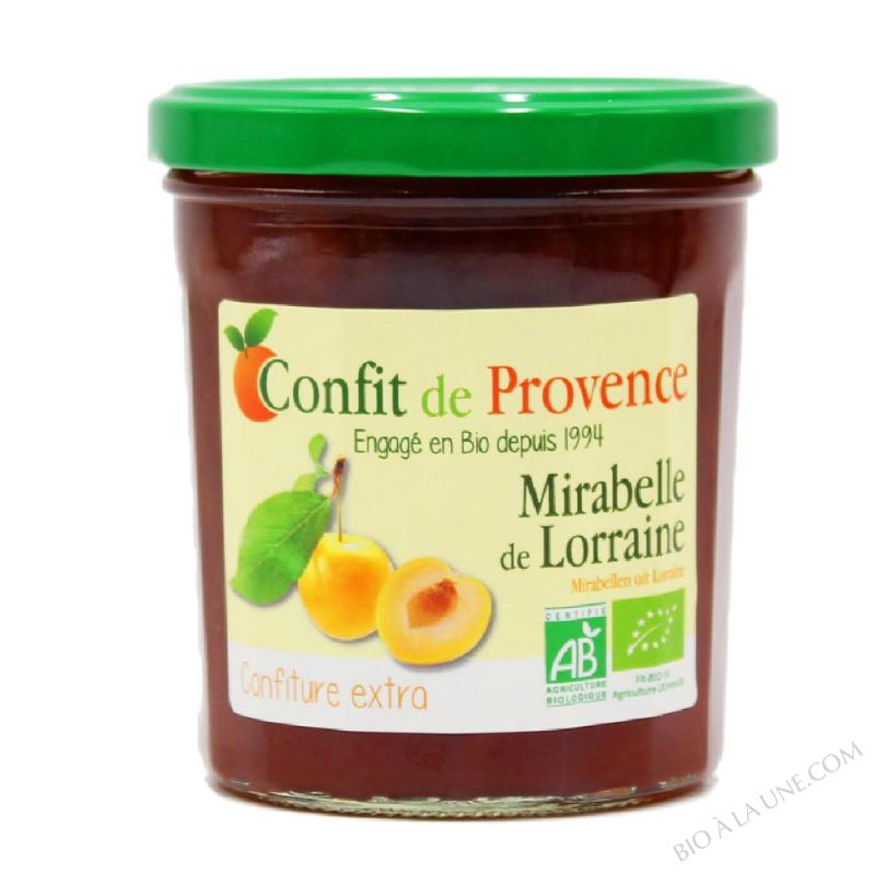 Confiture Extra de Mirabelle de Lorraine BIO 370g