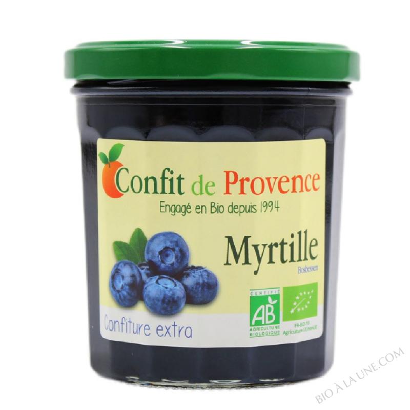 Confiture Extra de Myrtille BIO 370g