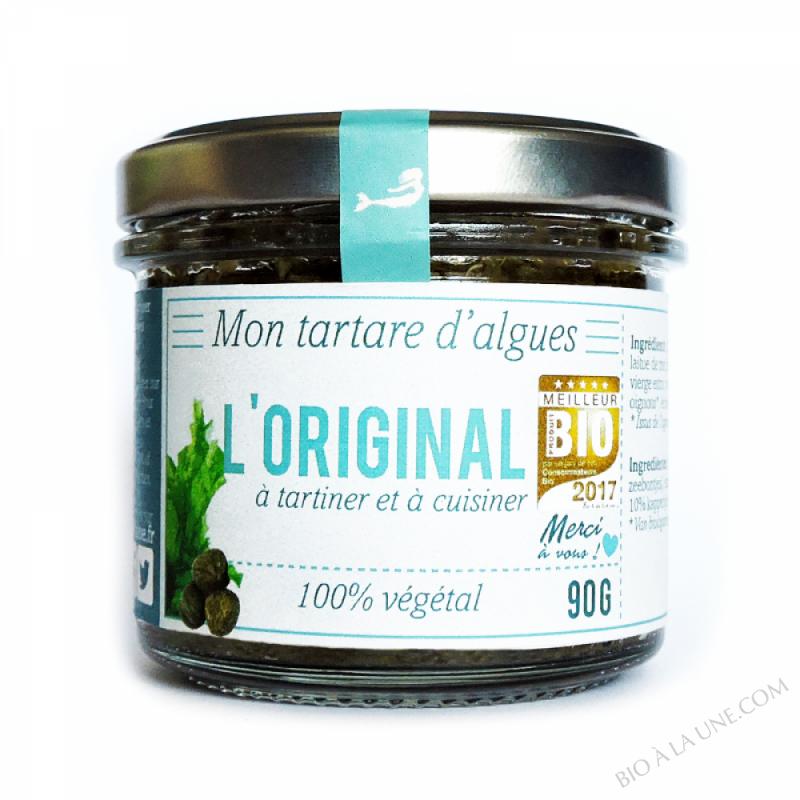 Tartare d'algues l'Original 90g bio - Marinoë