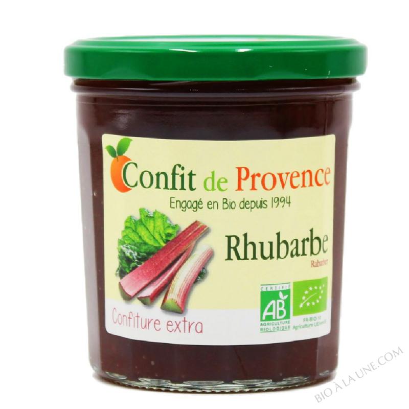 Confiture Extra de Rhubarbe BIO 370g