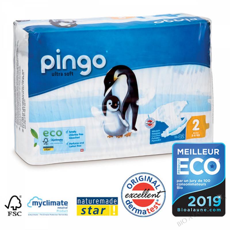 PINGO Couches Écologiques T2 MINI (3-6kg)