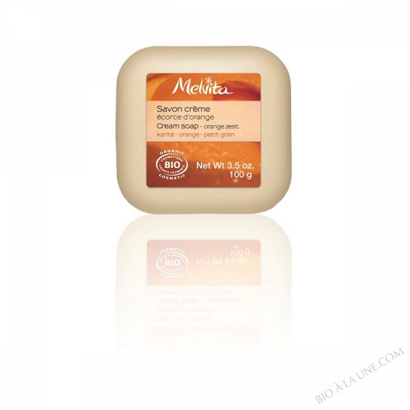 Savon crème Ecorce d'orange - 100g