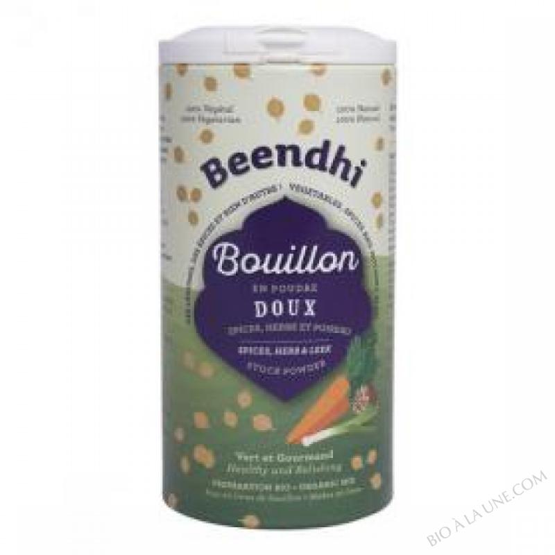 BOUILLON DOUX EPICES, HERBE, POIREAU BIO 100G