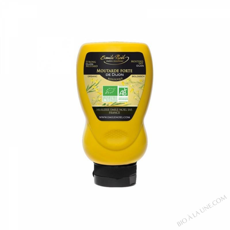Moutarde forte de Dijon squeeze - 265g