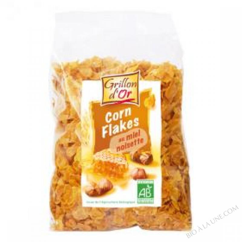 Corn Flakes Miel et Noisettes 250g