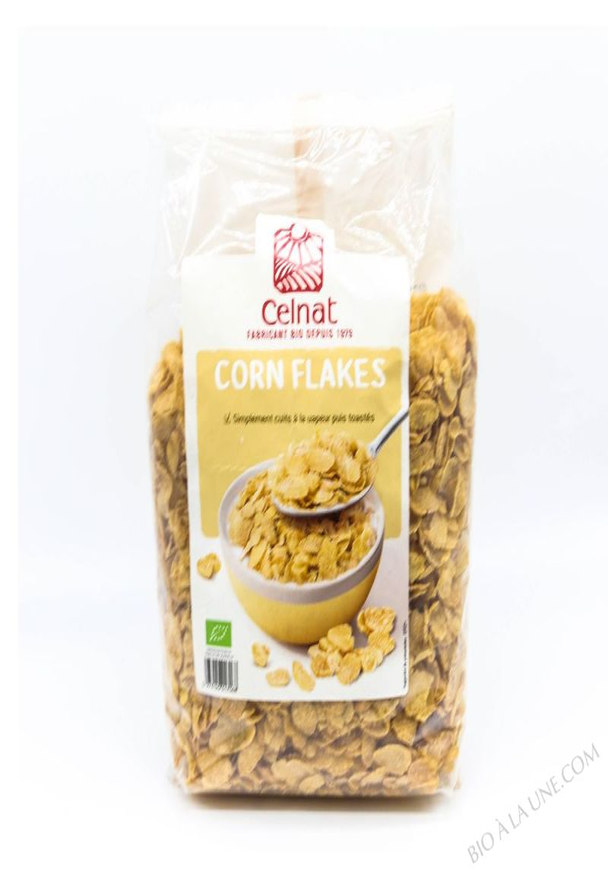 CELNAT Corn Flakes Traditionnels BIO - 375G